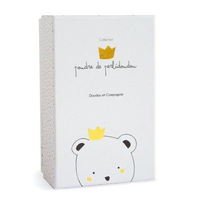 Boite à musique ours petit roi Doudou et compagnie