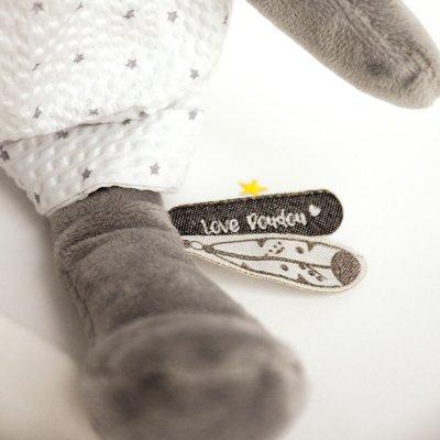 Peluche bébé pantin panda attrape-rêve Doudou et compagnie