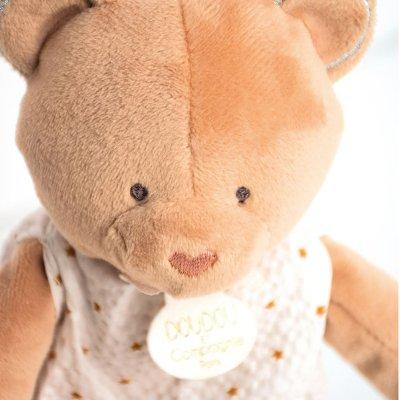 Peluche bébé pantin ours attrape-rêve Doudou et compagnie