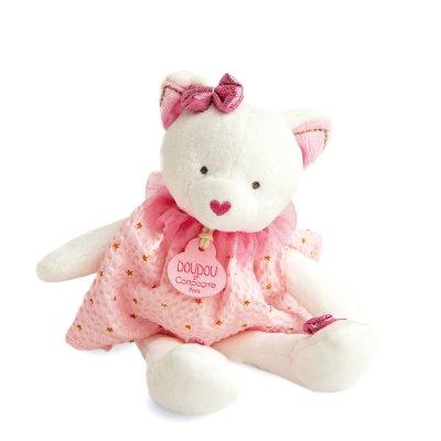 Peluche bébé pantin chat attrape-rêve Doudou et compagnie