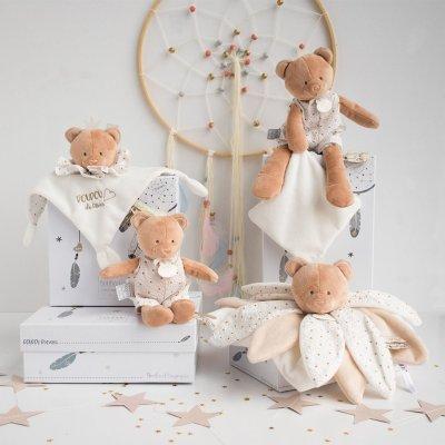 Doudou pétales ours attrape-rêve Doudou et compagnie