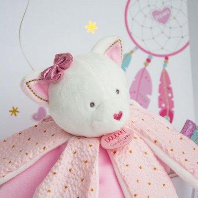 Doudou pétales chat attrape-rêve Doudou et compagnie
