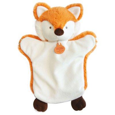 Jouet d'éveil bébé marionnette renard Doudou et compagnie
