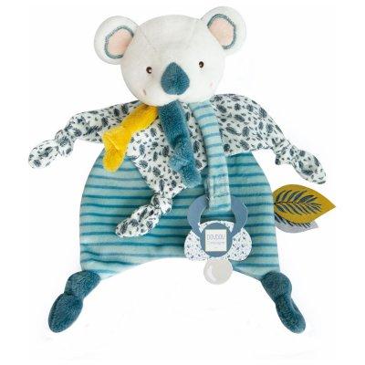 Doudou attache-sucette yoca le koala Doudou et compagnie