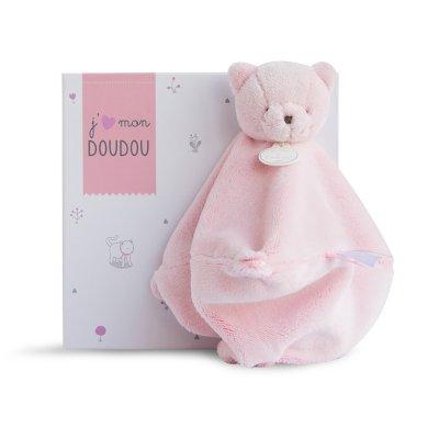 Doudou chat rose Doudou et compagnie