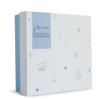 Doudou ours bleu Doudou et compagnie