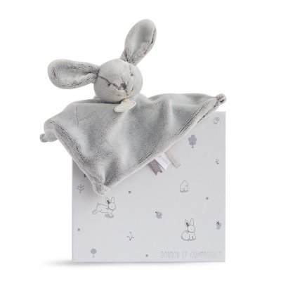 Doudou lapin perle Doudou et compagnie