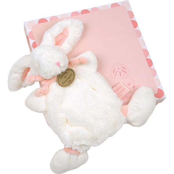 Doudou rose lapin bonbon Doudou et compagnie