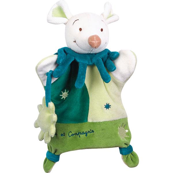 Doudou marionnette souris verte Doudou et compagnie