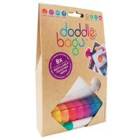Lot de 8 gourdes ré-utilisable 100ml + 1 feutre doddlebags