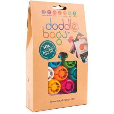 Lot de 10 gourdes ré-utilisable 100 ml Doodlebags