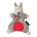 Doudou marionnette le loup bigbos