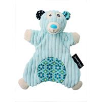 Doudou marionnette l'ours polaire illicos