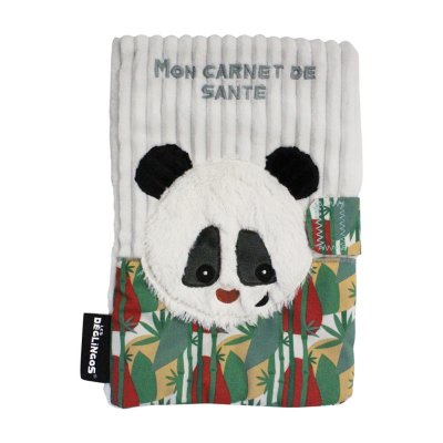 Protège carnet de santé rototos le panda Les deglingos