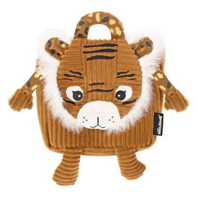 Sac à dos en velours speculos le tigre Les deglingos