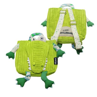 Sac à dos l'alligator aligatos Les deglingos