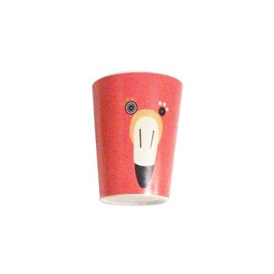 Coffret repas bambou flamingos le flamant rose Les deglingos