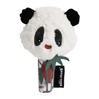 Jouet d'éveil bébé miroir rototos le panda Les deglingos