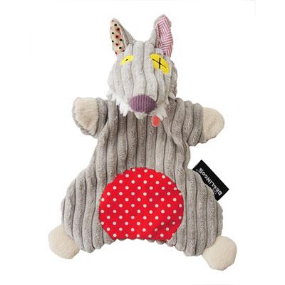 Doudou marionnette le loup bigbos Les deglingos