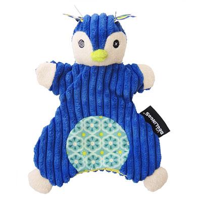 Doudou marionnette le pingouin frigos Les deglingos