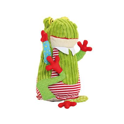 Peluche original la grenouille croakos Les deglingos