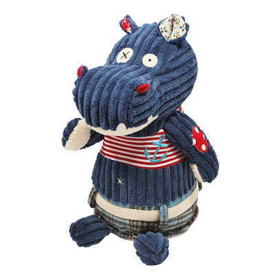 Peluche original l'hippopotame hippipos Les deglingos