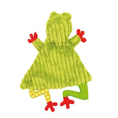 Doudou baby la grenouille croakos Les deglingos