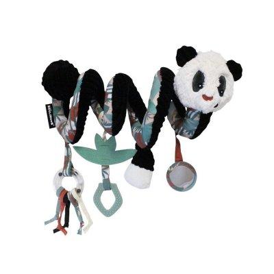 Jouet de lit bébé spirale rototos le panda Les deglingos