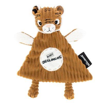 Doudou baby speculos le tigre Les deglingos