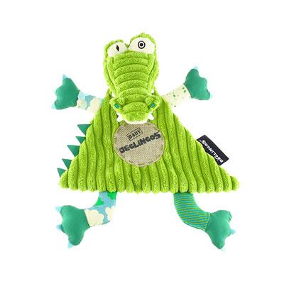 Doudou baby l'alligator aligatos Les deglingos