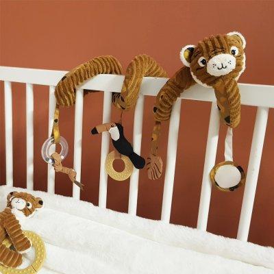 Jouet d'éveil bébé spirale spéculos le tigre Les deglingos