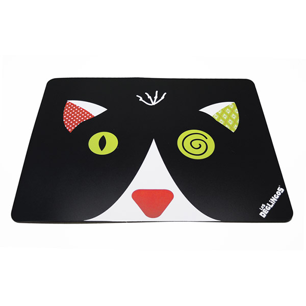 Set de table le chat charlos Les deglingos