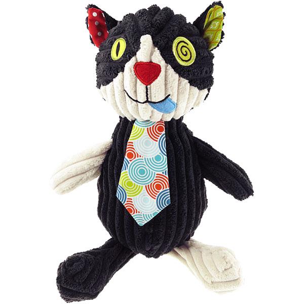 Peluche simply le chat charlos 23 cm Les deglingos