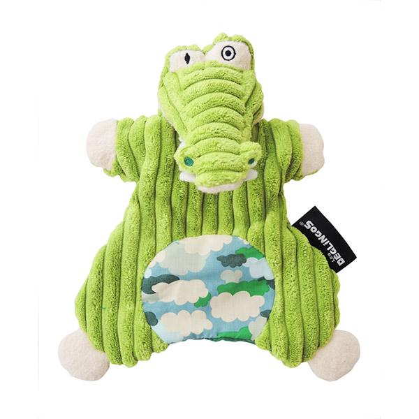 Doudou marionnette l'alligator aligatos Les deglingos