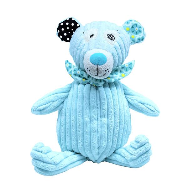 Peluche bébé l'ours illicos simply 23 cm Les deglingos