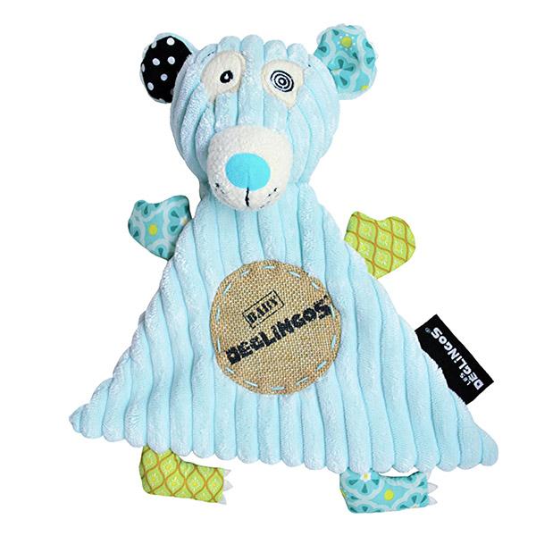 Doudou baby l'ours illicos Les deglingos