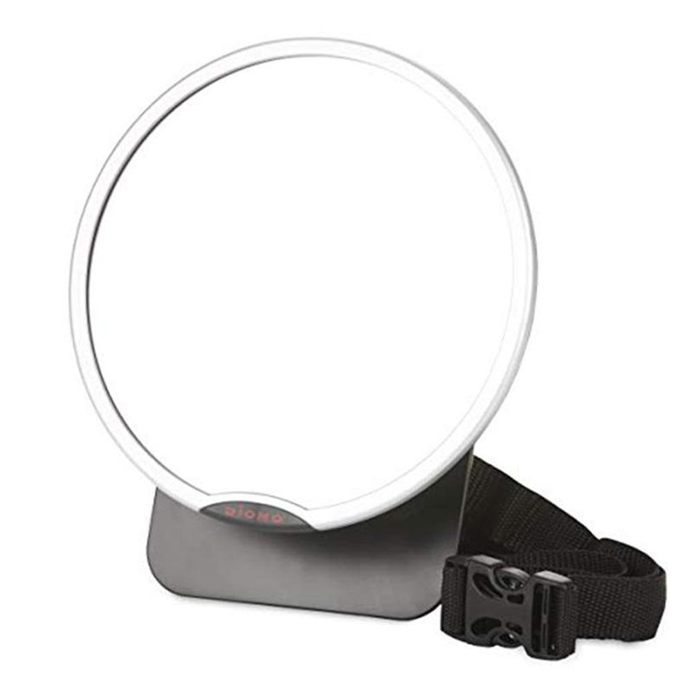 miroir de surveillance grand angle easy view de diono sur allob b. Black Bedroom Furniture Sets. Home Design Ideas