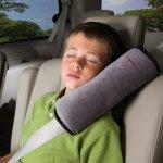 Oreiller de ceinture gris seat belt pillow