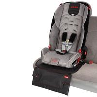 Protection base de siège avec matelas à lange