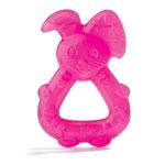 Anneau de dentition réfrigéré lapin rose