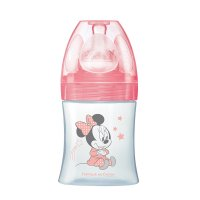 Biberon sans bpa sensation+ minnie rose 150ml