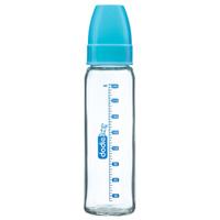 Biberon verre bleu 240ml