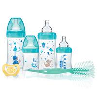 Coffret naissance 4 biberons sensation+ +1goupillon +1sucette lagoon