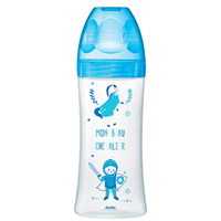 Biberon sans bpa sensation+ bleu dragon 330ml