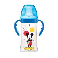 Biberon sans bpa initiation+ avec anses mickey 270ml