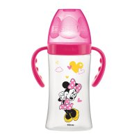 Biberon sans bpa initiation+ avec anses minnie 270ml
