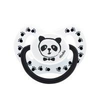 Sucette silicone 0-6 mois panda