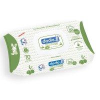 Lingettes à l'huile d'olives 3en1 bio 70 pièces
