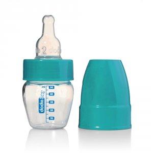 Micro biberon bleu ou rouge 50ml