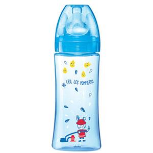 Dodie Biberon sans bpa initiation+ bleu 330 ml